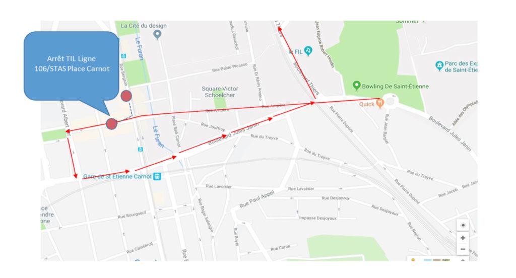 Til alerte 3eme ligne de tramway