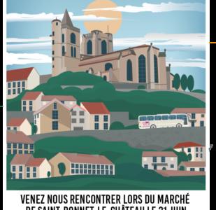 Marché de Saint-Bonnet-le-Château -21 juin 2019